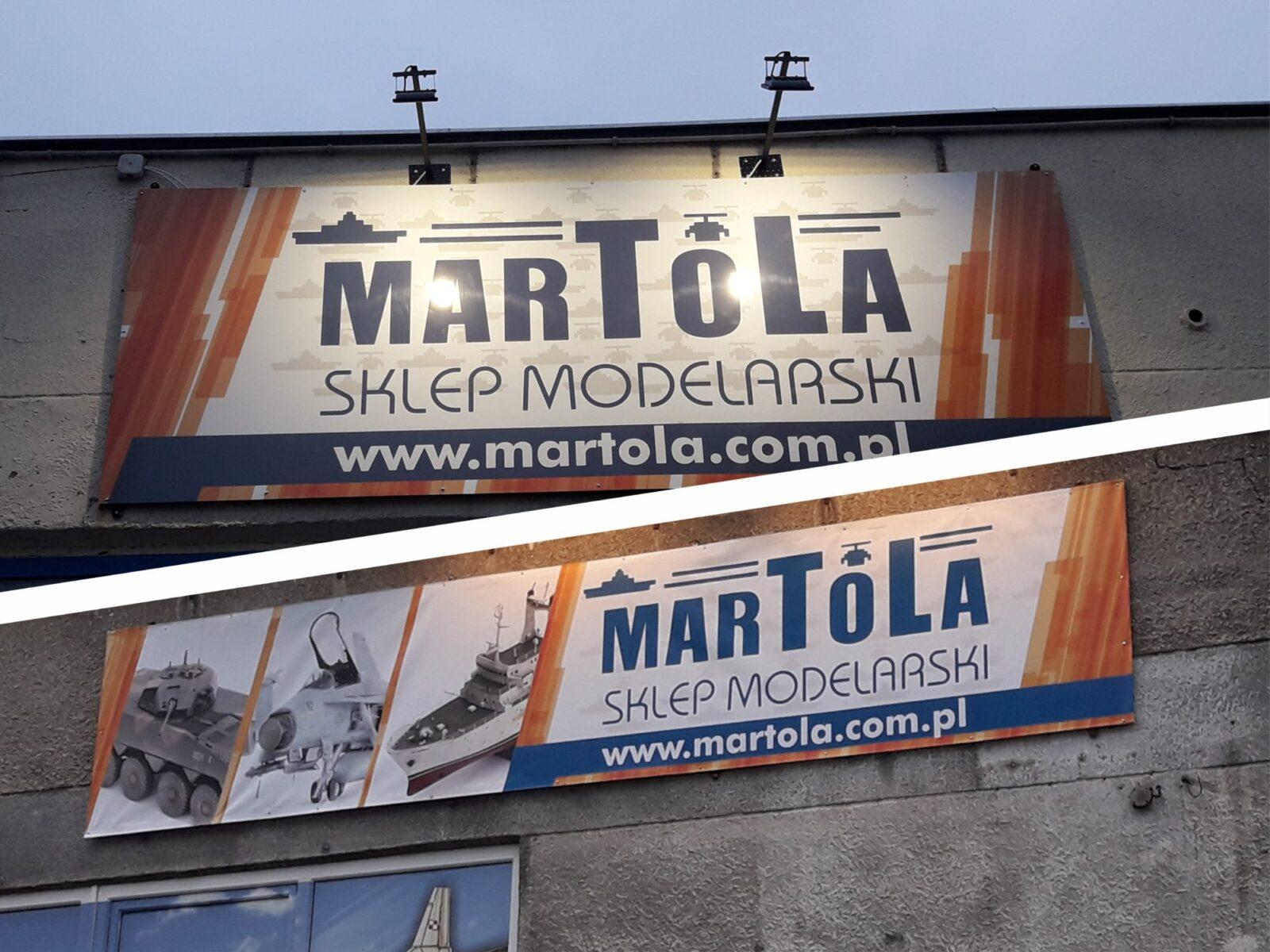 branding firmy, oznakowanie sklepu, szyldy, banery, witryny