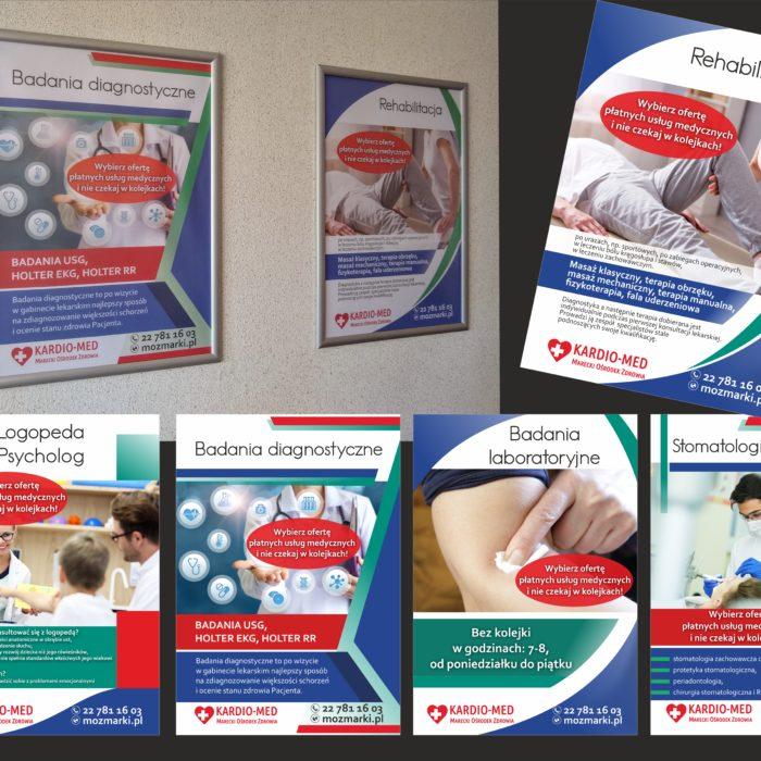 Plakaty ulotki wydawnictwa